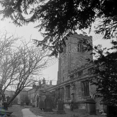 Kirkby Malham Church, 1957